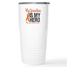 LeukemiaHero Grandson Travel Mug