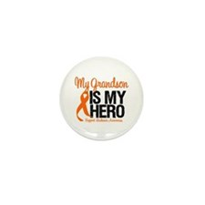 LeukemiaHero Grandson Mini Button (10 pack)
