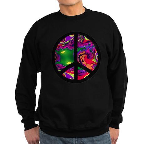 Peace Sign Sweatshirt (dark)