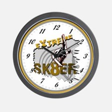 EXTREME SK8ER Wall Clock
