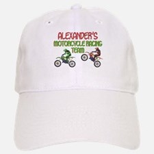 Alexander's Motorcycle Racing Baseball Baseball Cap