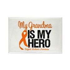 LeukemiaHero Grandma Rectangle Magnet