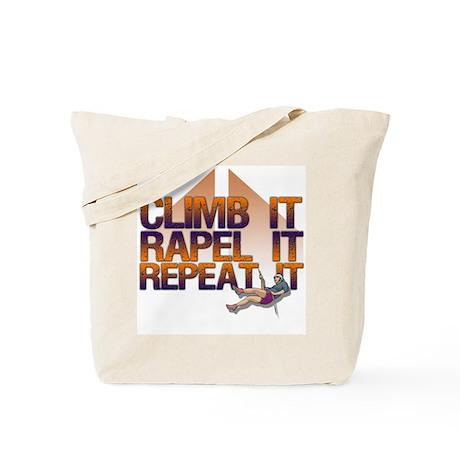 Repel It/Climber Tote Bag