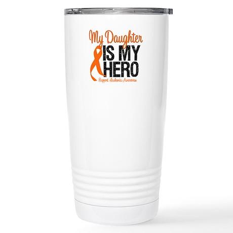 LeukemiaHero Daughter Stainless Steel Travel Mug