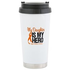 LeukemiaHero Daughter Travel Mug