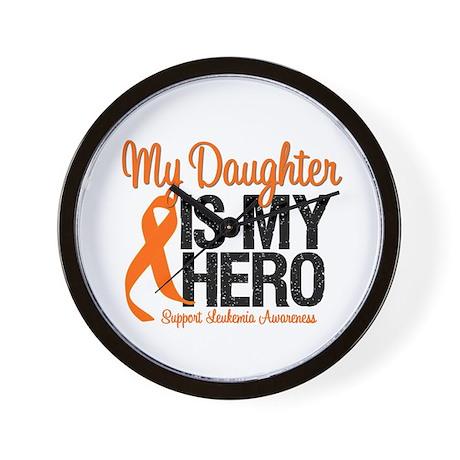LeukemiaHero Daughter Wall Clock