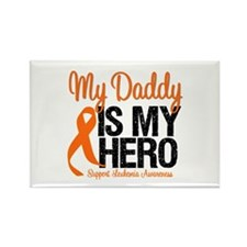 LeukemiaHero Daddy Rectangle Magnet