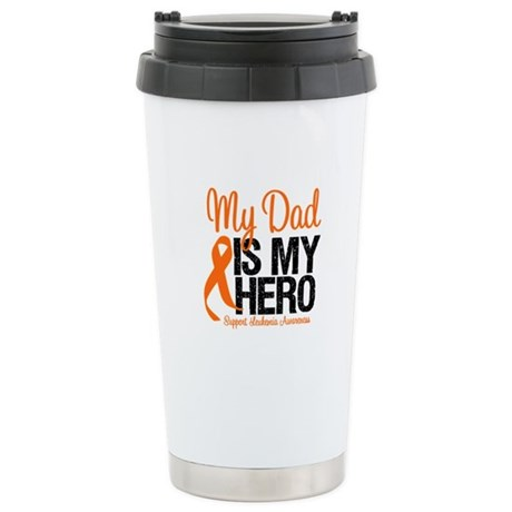 LeukemiaHero Dad Stainless Steel Travel Mug