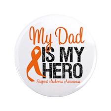 "LeukemiaHero Dad 3.5"" Button"