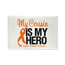 LeukemiaHero Cousin Rectangle Magnet