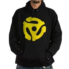Yellow 45 RPM Adapter Hoody