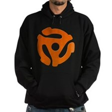 Orange 45 RPM Adapter Hoody