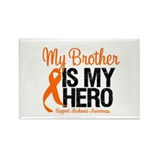 LeukemiaHero Brother Rectangle Magnet