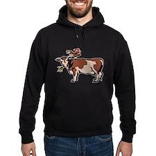 Brown Chicken Brown Cow 3 Hoodie