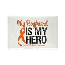 LeukemiaHero Boyfriend Rectangle Magnet