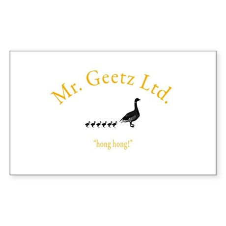 Geetz Ltd Rectangle Sticker