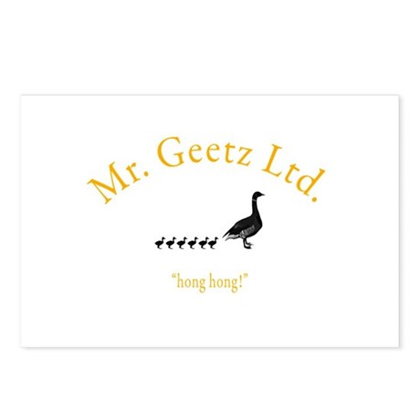 Geetz Ltd Postcards (Package of 8)