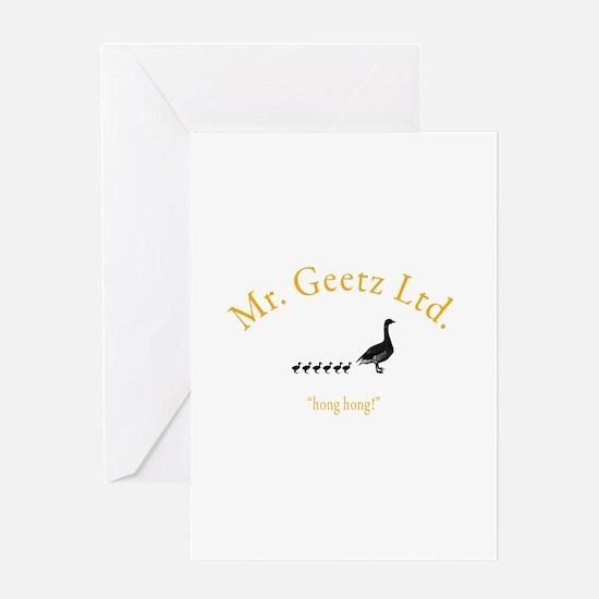 Geetz Ltd Greeting Card