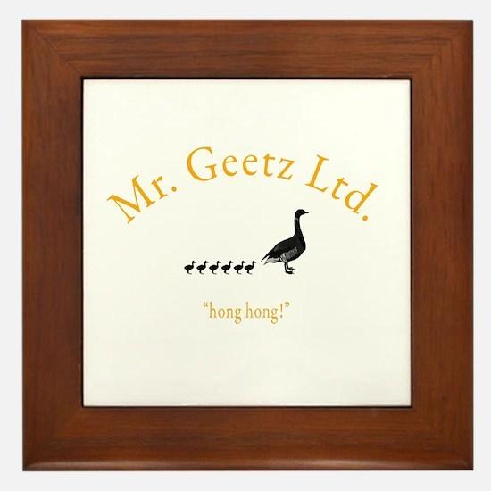 Geetz Ltd Framed Tile