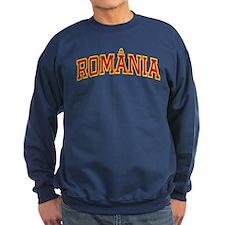 Romania Colors Sweatshirt