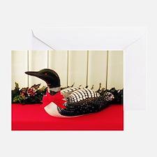 Holiday Loon Greeting Card