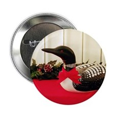 """Holiday Loon 2.25"""" Button"""