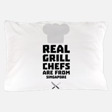 Real Grill Chefs are from Singapore Cm Pillow Case