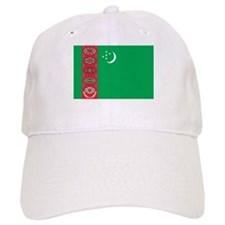 Turkmenistan Flag Baseball Cap