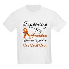 Orange Ribbon Butterfly T-Shirt