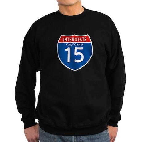 Interstate 15 - CA Sweatshirt (dark)