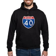 Interstate 40 - CA Hoodie