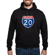 Interstate 20 - GA Hoodie