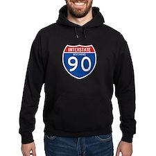 Interstate 90 - WY Hoodie