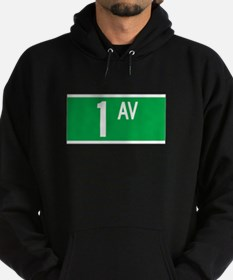 1st Ave., New York - USA Hoodie