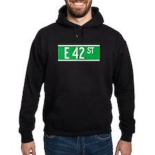 E 42 St., New York - USA Hoodie