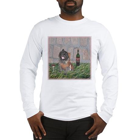 Merrie Monk Cairn Terrier Long Sleeve T-Shirt