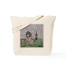 Merrie Monk Cairn Terrier Tote Bag
