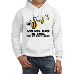Funny slogan boo Bees Hoodie