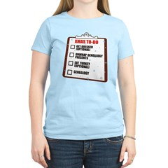 XMAS To-Do List T-Shirt