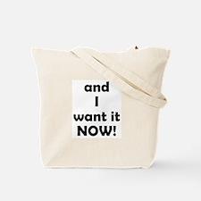 I Want World Peace Tote Bag