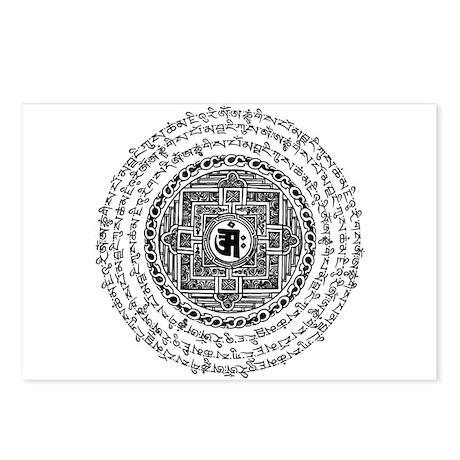 Mantra Mandala Postcards (Package of 8)