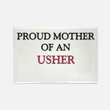 Proud Mother Of An USHER Rectangle Magnet