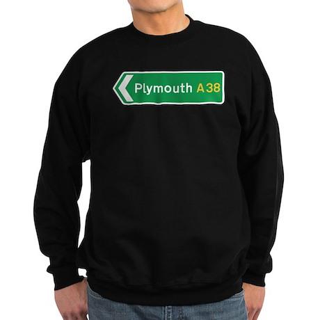 Plymouth Roadmarker, UK Sweatshirt (dark)