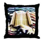 Torah's Song Throw Pillow