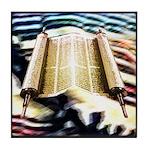 Torah's Song Tile Coaster