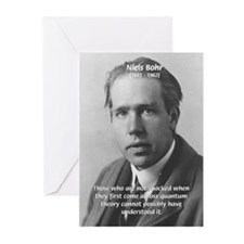 Quantum Physics: Niels Bohr Greeting Cards (Packag