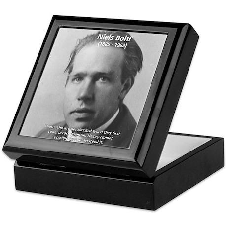 Quantum Physics: Niels Bohr Keepsake Box