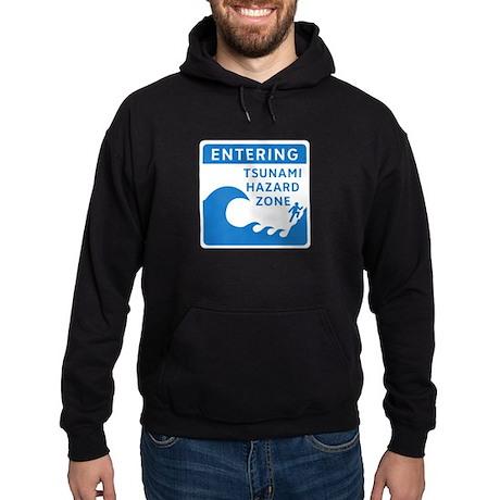 Tsunami Hazard Zone, Canada Hoodie (dark)
