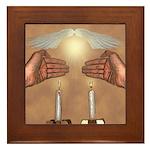 Ki Eshmera Shabbat Framed Tile
