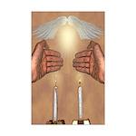 Ki Eshmera Shabbat Mini Poster Print
